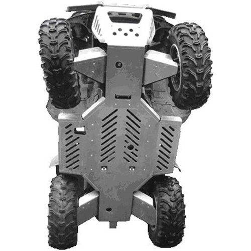 Iron Baltic Skide Plate for  Yamaha Grizzly 660